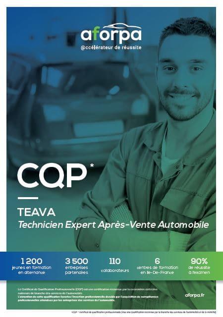 Cqp Teava Technicien Expert Apres Vente Automobile Aforpa