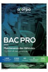BAC PRO Maintenance des Véhicules Option A (Véhicule Particulier)
