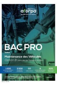 BAC PRO Maintenance des Véhicules Option B (Véhicule de Transport Routier)