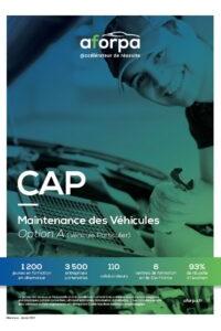 CAP Maintenance des Véhicules Option A (Véhicule Particulier)