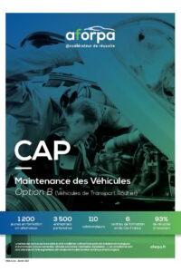 CAP Maintenance des Véhicules Option B (Véhicules de Transport Routier)