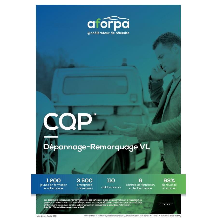 CQP Dépannage-Remorquage VL