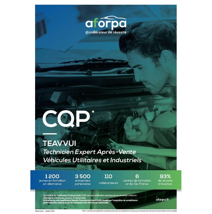 CQP TEAVVUI – Technicien Expert Après-Vente Véhicules Utilitaires et Industriels